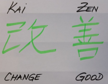 Kaizen : change myself for good