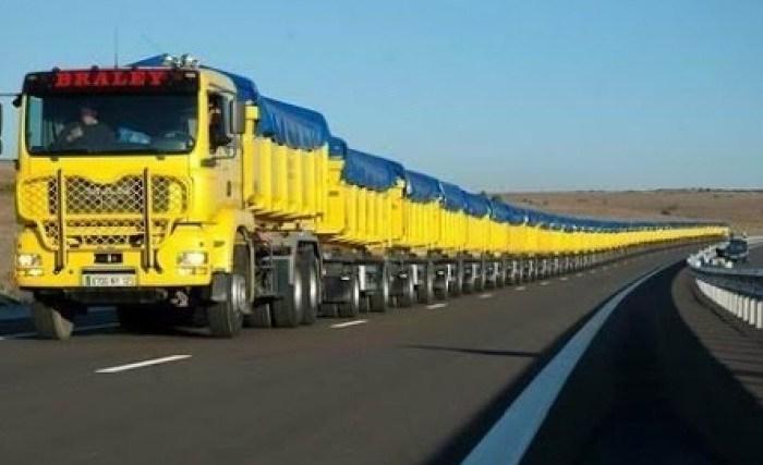 Passer d'un camion quotidien presque vide au train routier avec leLean
